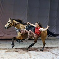 Tall in the Saddle: <i>Cavalia</i> gallops into town and delivers astonishing entertainment