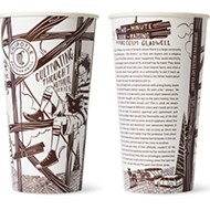 St. Louis Illustrator Puts Malcolm Gladwell On Your Chipotle Cup