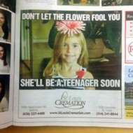 St. Louis Ad Seems to Say: Life Is Short, So Buy Cremations for Your Kids