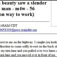 Open Letter to a Traffic-Jammin' Beauty