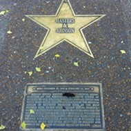 Poop in the Loop: Who Let This Turd Sit on the Masters of Sex Walk of Fame Star?