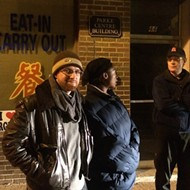 National Guard a Welcome Sight for Long-Time Downtown Ferguson Resident