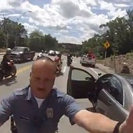 VIDEO: Motorcyclist Rams Missouri Cop Car During Wheelie, Pays Dearly For It