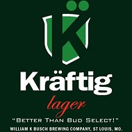 "William K. Busch's Kräftig Lager: ""Better Than Bud Select!"""