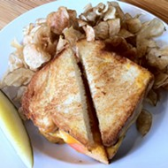 Try the Grilled Cheese Sandwich at Half & Half