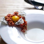 Top Ten Dishes 2012 #3: Steak Tartare at Little Country Gentleman
