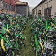 Valley of Damaged Lime Bikes Getting Critical Parts for Repair Next Week