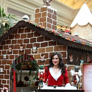 Have Lunch Inside a Life-Size Gingerbread House This Holiday Season