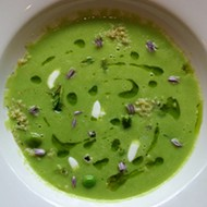 Nate Hereford of Niche: Recipe for English Pea Soup