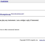 Best. Craigslist. Musician. Ever.