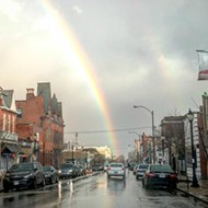 Stunning Photos of the Amazing Rainbow in St. Louis Yesterday