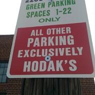 Hodak's, Neighbors Squabble Over Shared Parking Lot
