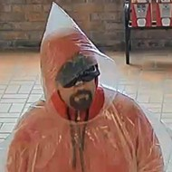 Poncho-Clad Robber Hits Bank in Collinsville