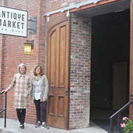 The Hill Antique Market Opens Next Week, Bringing Shopping to a Food Destination
