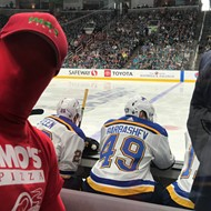 Imo's Guy Cheered the Blues to a Saucy Playoff Victory Over San Jose