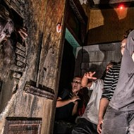 Your Date Will Hold You Tight at This Valentine's Day-Themed Haunted House