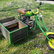 Kickass John Deere Apocalypse Bike For Sale in St. Louis Area