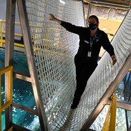 The St. Louis Aquarium Will Let You Walk Over its Shark Tank on a Rope Bridge