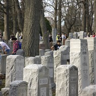 Photos: St. Louisans Unite to Clean Desecrated Jewish Cemetery