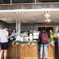 Coma Coffee Shines in New Two-Story Cafe