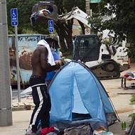 St. Louis Removes Unhoused From Park, Trashing Tents and Belongings