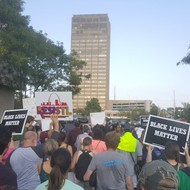 From St. Louis Galleria, Protesters March Through Shopping District