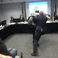 Cop Body Slams Adjunct Instructor at St. Louis Community College Trustee Meeting