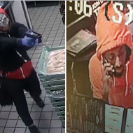 Man in a Halloween Mask Robs St. Peters Steak N Shake