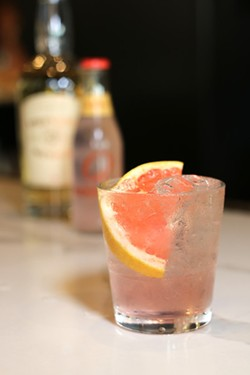 Classic pink gin cocktail. - COURTESY OF 1764 PUBLIC HOUSE