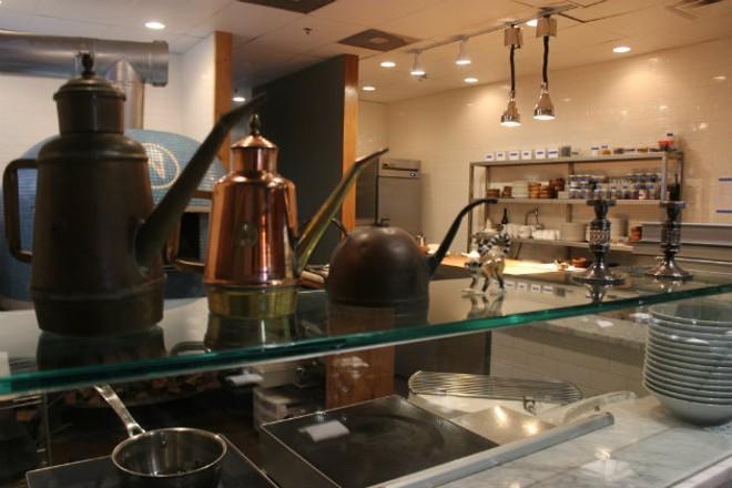 Privado's kitchen. - CHERYL BAEHR
