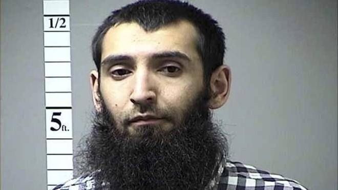 Sayfullo Saipov was arrested in Missouri last year. - IMAGE VIA ST. CHARLES COUNTY