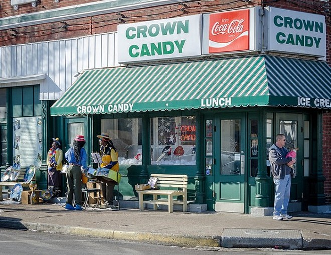 Crown Candy has held down its corner in Old North St. Louis for 104 years. - COURTESY OF FLICKR/KEITH YAHL