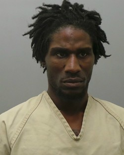 Lamar Bowens, 28, was arrested after crashing a Lexus stolen during a Clayton carjacking, police say. - IMAGE VIA ST. LOUIS COUNTY POLICE