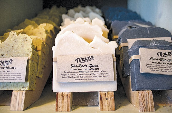 Maven: a Maplewood shop with great smells. - SARA BANNOURA