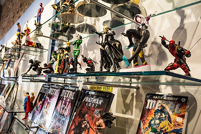Star Clipper: a downtown destination for comic book lovers. - SARA BANNOURA