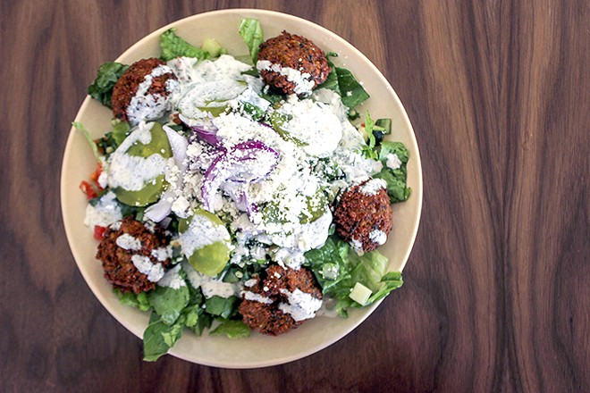 """Garbanzo brings its """"delicious and nutritious"""" food to Clayton. - CHERYL BAEHR"""