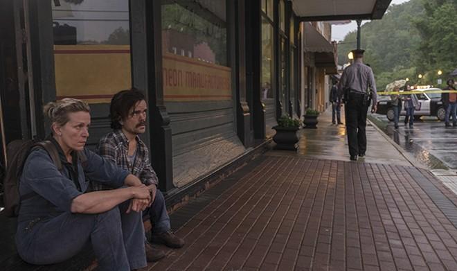 Director/write McDonagh treats Peter Dinklage's very presence as a joke. - MERRICK MORTON  © 2017 TWENTIETH CENTURY FOX FILM CORPORATION