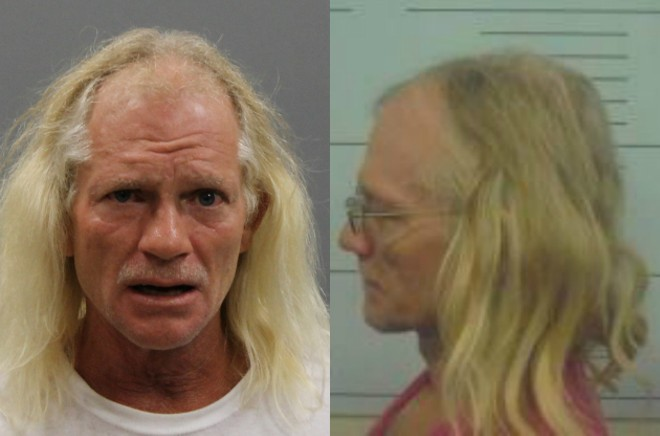 Mike Jones escaped from jailers on Monday in southeast Missouri. - IMAGES VIA LAWRENCE COUNTY SHERIFF/VERNON COUNTY JAIL
