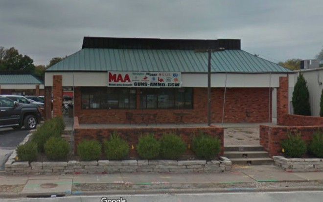 Michaels Arms & Accessories in Edwardsville. - PHOTO VIA GOOGLE MAPS