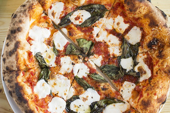 Pizza is influence by the Neapolitan masters, but not a literal translation. - MABEL SUEN