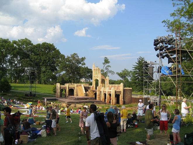 Shakespeare Festival St. Louis in Forest Park. - PHOTO COURTESY OF FLICKR / CHRIS YUNKER