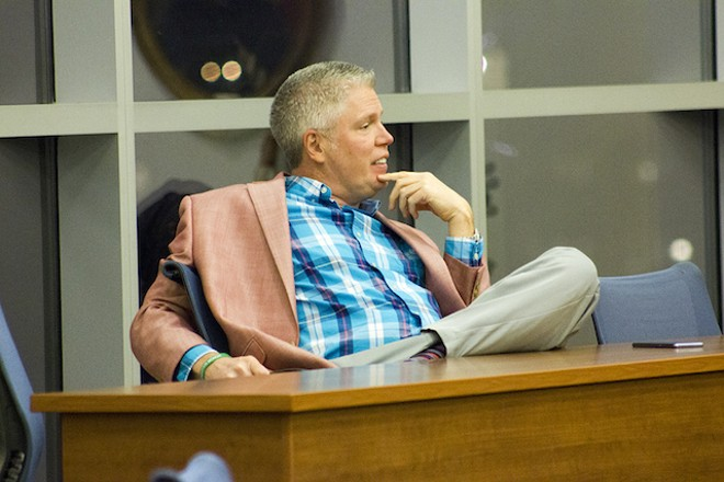 Jeff Roorda, a man for all seasons. - DANNY WICENTOWSKI