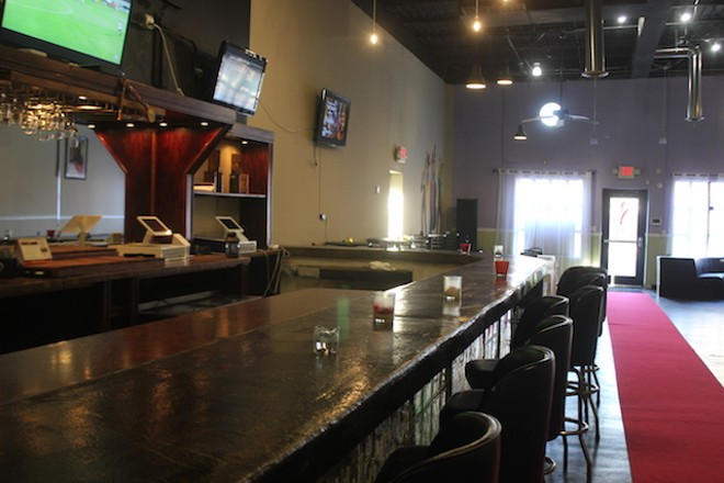 The restaurant also hopes to offer a full bar. - SARAH FENSKE