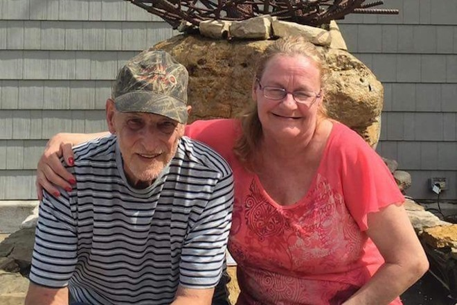 Randy and Rhonda Ritter passed away this weekend after their home caught fire. - VIA GOFUNDME