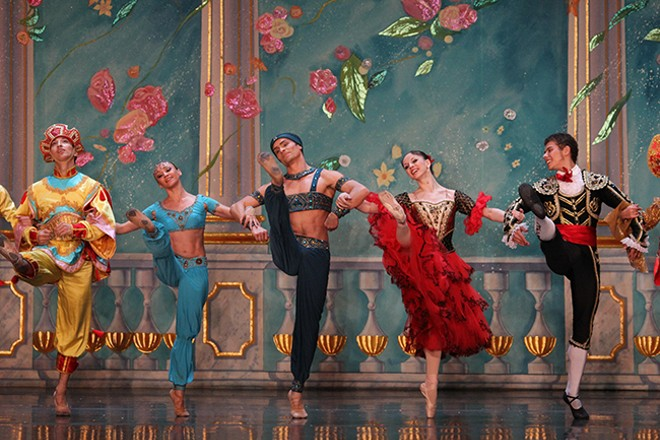 COURTESY OF THE MOSCOW BALLET