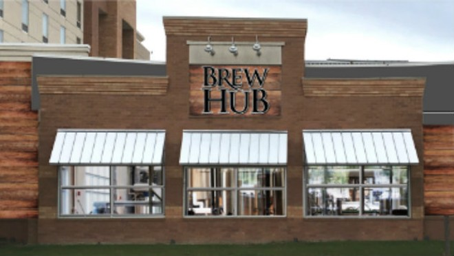 Brew Hub Taproom will have a full-service kitchen featuring food that compliments the beer, and vice-versa. - COMPLIMENTS OF BREW HUB TAPROOM