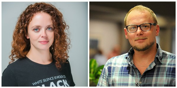 Democratic committee members Annie Rice and Paul Fehler will face off for the 8th Ward seat. - COURTESY OF ANNIE RICE/HOLLLY RAVAZZOLO