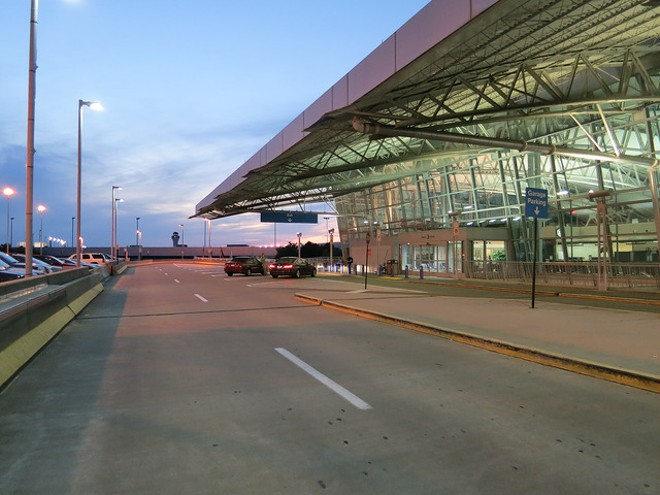 The second terminal at St. Louis Lambert International Airport. - FLICKR/PAUL SABLEMAN