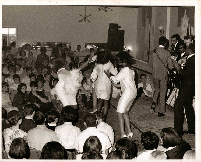 Ike and Tina performing at Club Imperial - COURTESY OF THE METRO ST. LOUIS LIVE MUSIC HISTORICAL SOCIETY VIA IMPERIALSWING.COM AND GREG EDICK