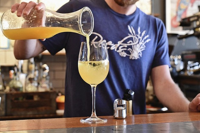 Bottomless mimosas will start your weekend right at Reeds American Table. - ED ALLER/ALLERNOTHING.COM